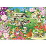 Summer Garden Birds - 500pc