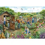 Down at the Allotment - 1000pc