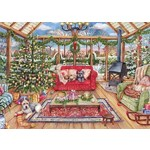 The Christmas Conservatory - 1000pc