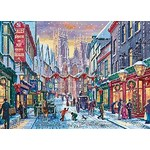 Christmas in York - 1000pc
