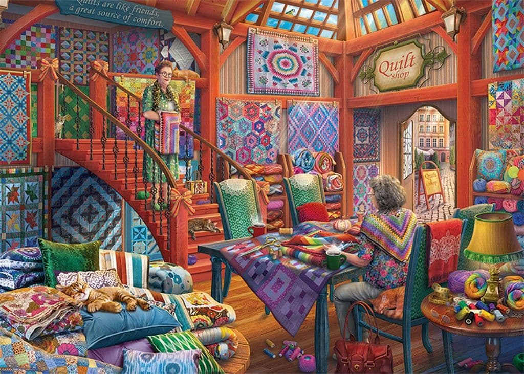 The Quilt Shop - 1000pc