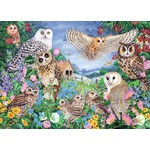 Owls in the Wood - 1000pc