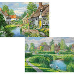 Riverside Cottages - 2 x 500pc