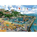 Newquay Harbour - 1000 piece