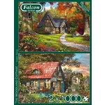 The Woodland Cottage - 2 x 1000pc