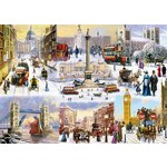 A Winter in London - 1000pc