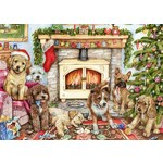 Christmas Puppies - 500pc