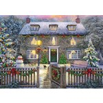 The Christmas Cottage - 1000pc