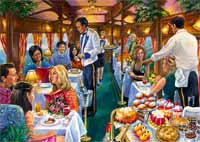 The Dining Carriage - 500pc