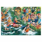 The Coracle Regatta - 1000pc