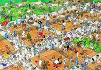 The Tennis Court 2000 piece  - JVH