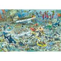 deep sea fun jvh - 1000 pieces