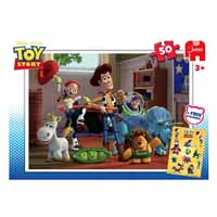 Toy Story Puzzle - With Free Sticker!