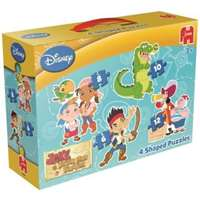 Jake & The Never Land Pirates 4 in 1