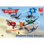 Planes - Shaped Floor Puzzle - 15pc