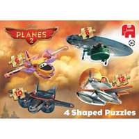 Disney Planes 4 in 1 Shaped Puzzle