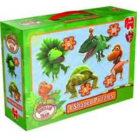 Dino Train 4 in 1 Shaped Puzzle
