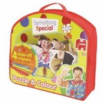 Something Special - Giant Floor Puzzle and Colour - 24pc