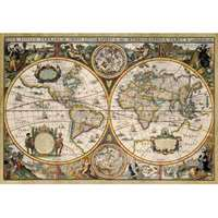 World Map From 1630 - 1500pc