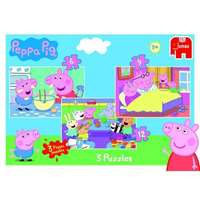 Peppa Pig 3 in 1 Puzzle Pack