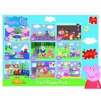 Peppa Pig - 9 in 1 - Puzzle Pack