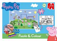 Peppa Pig - Puzzle and Play - 18pc
