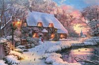 Winter Cottage - 1500pc