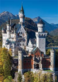 Neuschwanstein, Germany - 1000pc