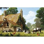 Cows at a Farm - 1500pc