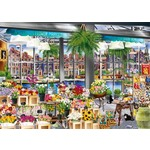 Amsterdam Flower Market - 1000pc
