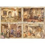 Anton Pieck - Bakers of the 19th Century - 1000pc