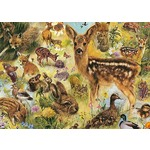 Young Wildlife - Rien Poortvliet - 1000pc