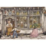 Anton Pieck - The Clock Shop - 1000pc