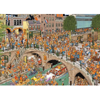 Jan Van Haasteren - Kingsday - 1000pc