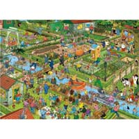 The Vegetable Garden - 1000pc