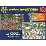 Jan van Haasteren - Christmas Gifts - 2 x 1000pc