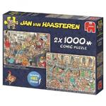 JvH - Happy Holidays - 2 x 1000pc