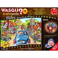 Wasgij Retro - Original 1 - Sunday Drivers - 1000pc
