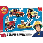 Fireman Sam 4 in 1 - Shaped Boxes