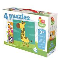 Jungle Animals - 4 in 1