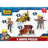 Bob the Builder - 4 in 1 Shaped Puzzles