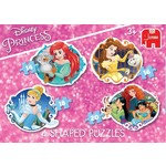 Disney Princesses - 4 in 1 Shaped