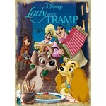 Disney Lady and the Tramp - 1000pc