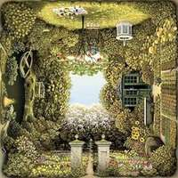 Jacek Yerka - The Romantic Garden