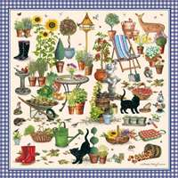 Life in the Garden - 1000pc