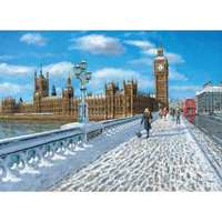 London - Promenade in the Snow -1000pc