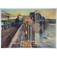 royal albert bridge saltash - railway posters