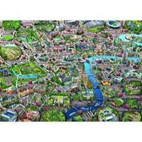Map of London - 1000pc