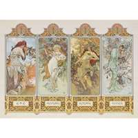Mucha - The Four Seasons - 1000pc