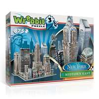 New York City - Midtown East - 3D Puzzle
